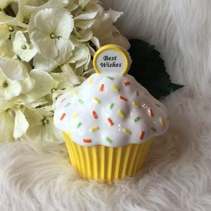 🆕Fitz and Floyd Cupcake Wishes Trinket Holder